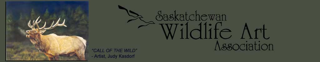 Sask Wildlife Art Association Header